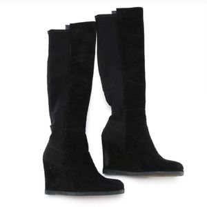 NEW Stuart Weitzman suede over the knee boots